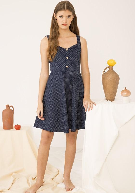 vestido-topos-azul-retro