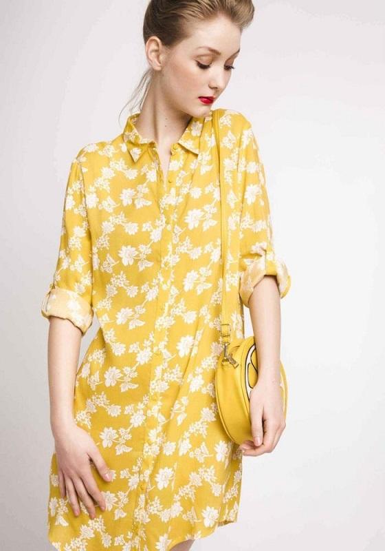 vestido-camisero-amarillo-estampado