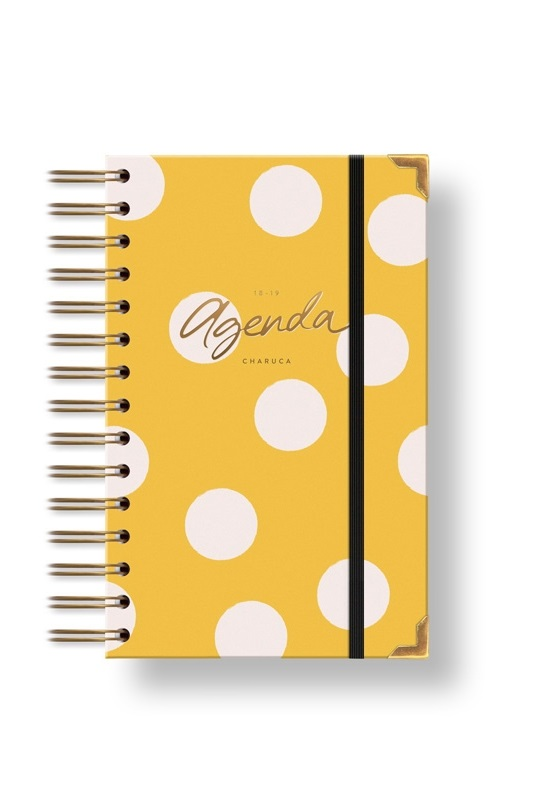agenda-18-19-dia-por-pagina-amarilla-chubby-charuca