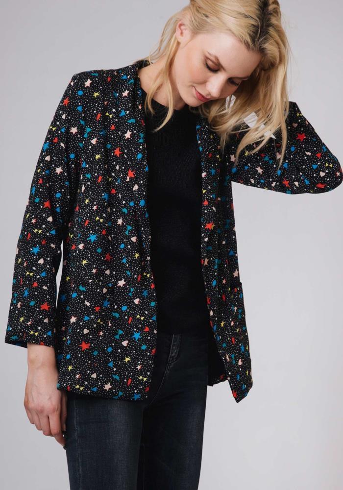 chaqueta-americana-blazer-estrellas-galactico-beret