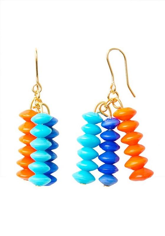 pendientes-colores-tres-naranja-celeste-azul