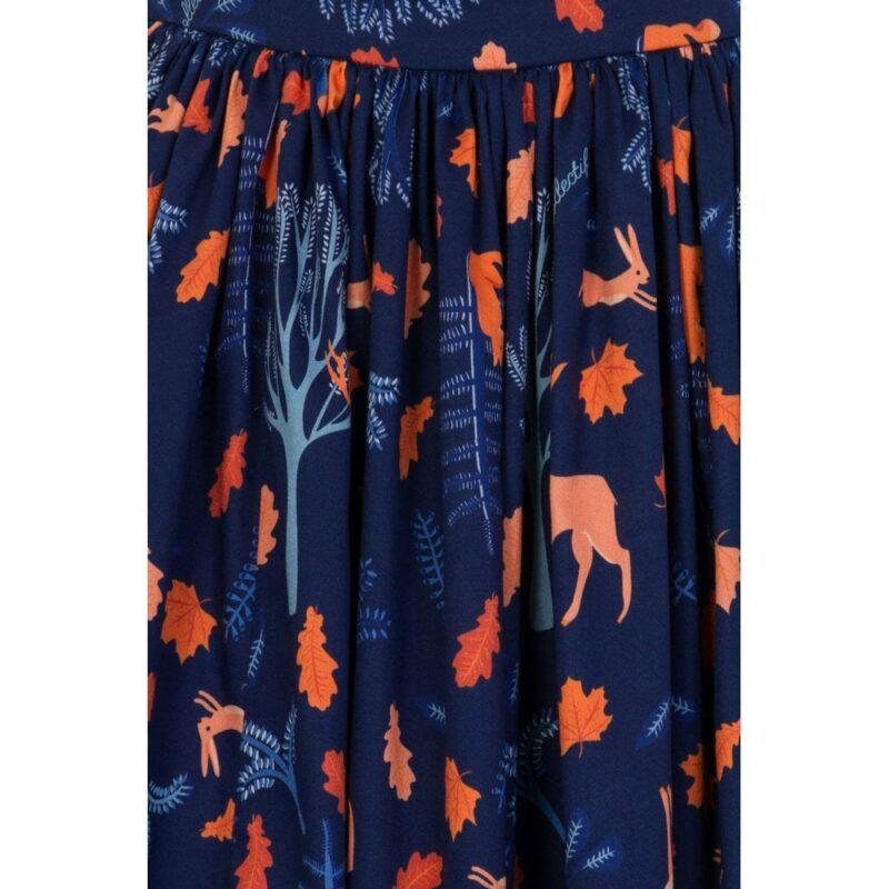 estampado-azul-falda-ciervos