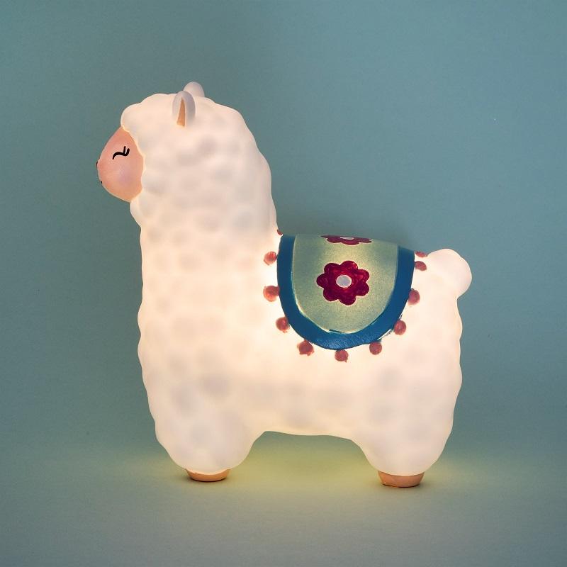 luz-llama-noche-alpaca