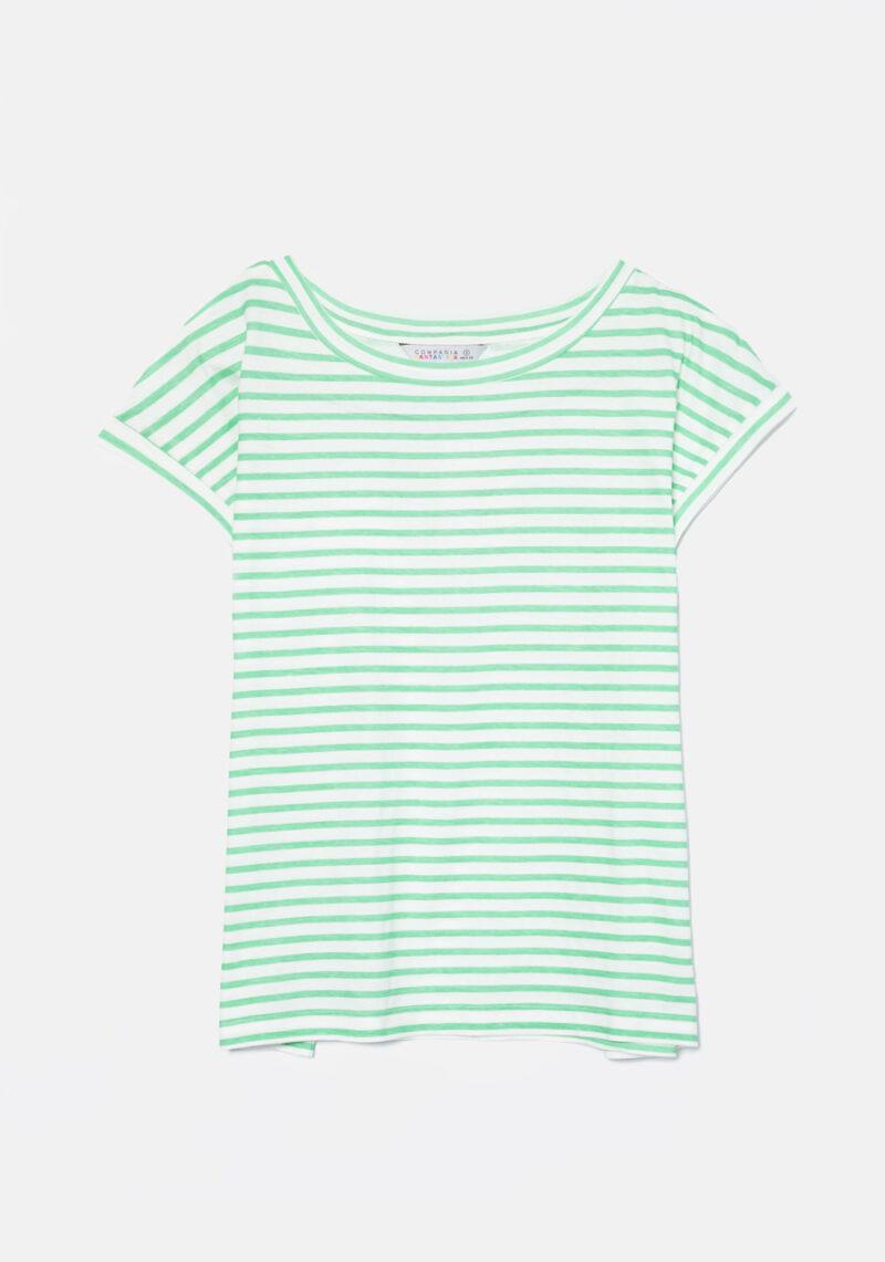 camiseta-rayas-verdes
