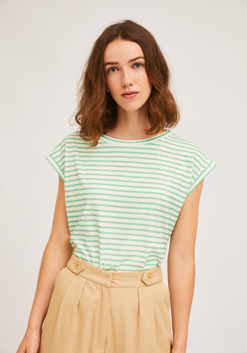 camiseta-rayas-verdes-marinerita