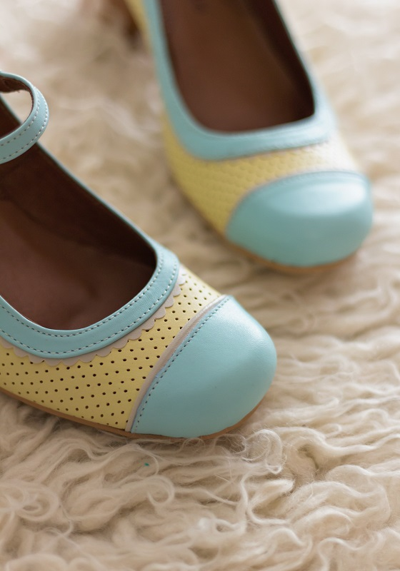 zapatos-vintage-amarillos-swing