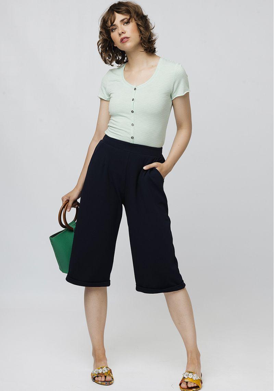 camiseta-verde-rayas-mangas-cortas