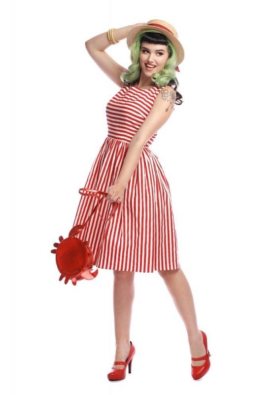 vestido-vintage-rayas-rojas-blancas-sin-mangas