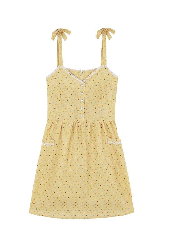 vestido-amarillo-topos-colores-lupita