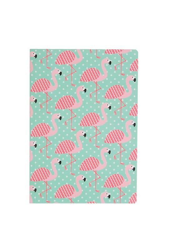 cuaderno-hojas-blancas-tropical-flamingo