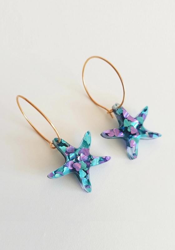 pendientes-estrella-de-mar-lila-verde