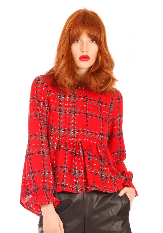 camisa-roja-estampado-cuadros-mangas-largas