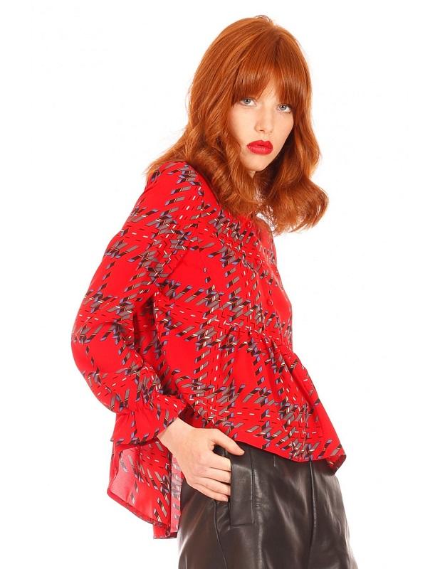 camisa-roja-mangas-largas-estampado-cuadros