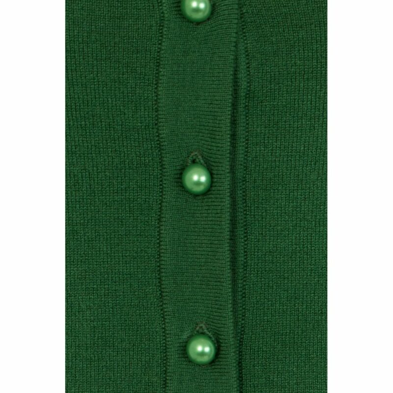 cardigan-ajustado-verde-pin-up