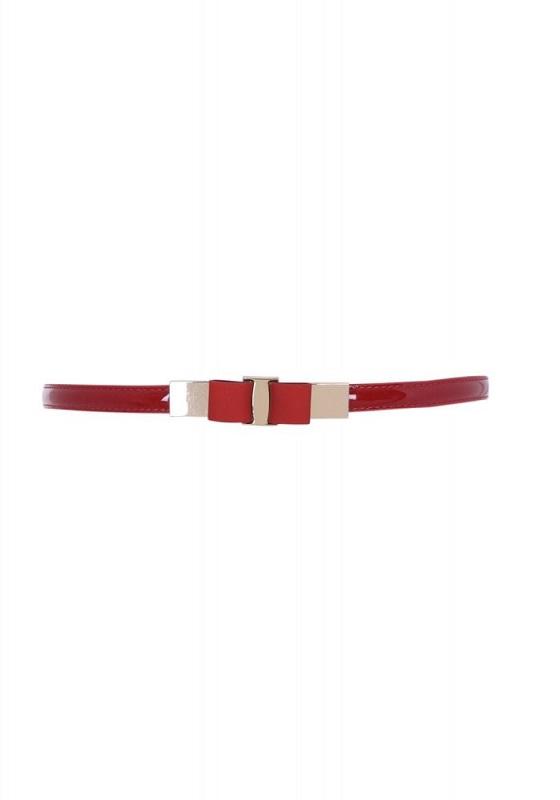 cinturon-charol-rojo-lazo
