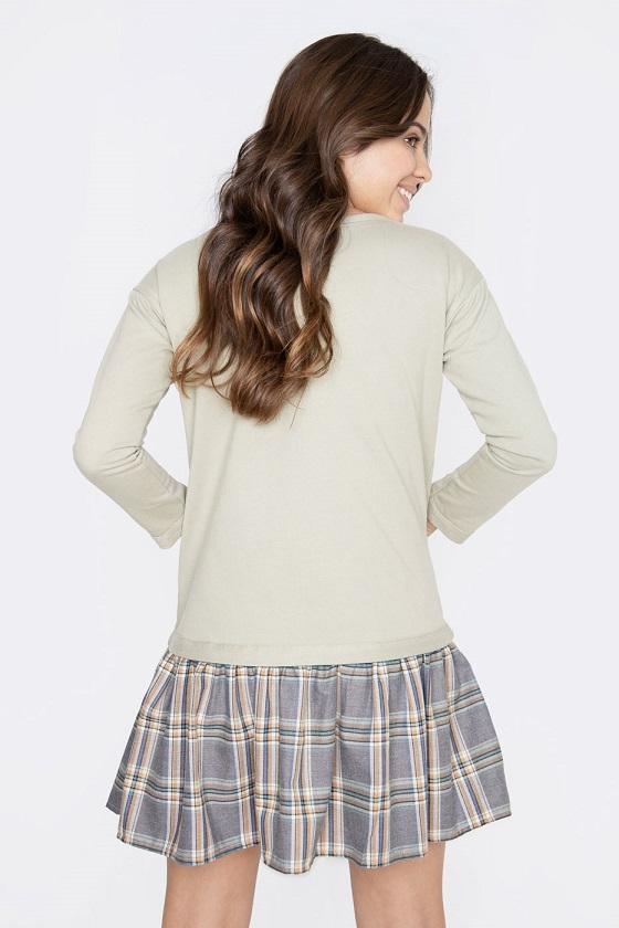 vestido-corto-alma-falda-cuadros