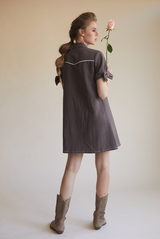 vestido-lara-lazo-mangas-botones