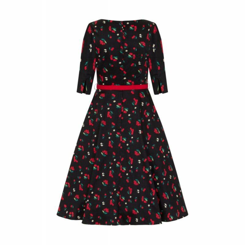 vestido-negro-estampado-cerezas-pin-up