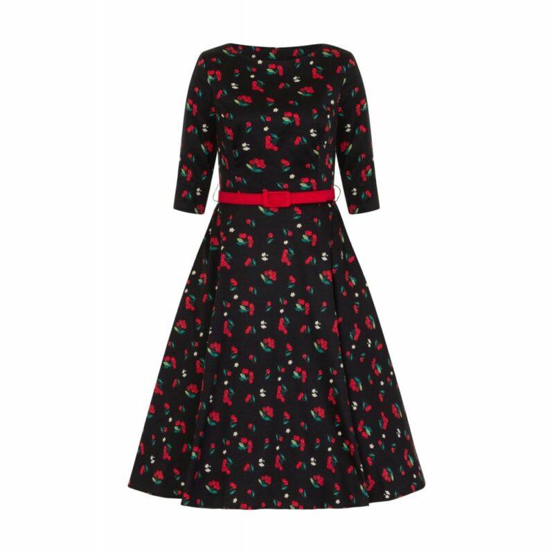 vestido-swing-50-estampado-cerezas