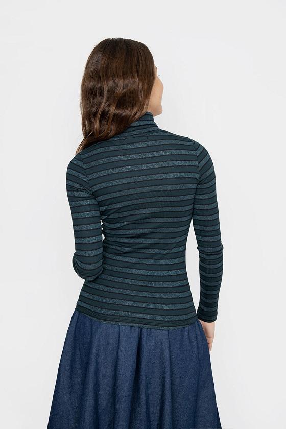 camiseta-belen-rayas-verdes-metalizadas