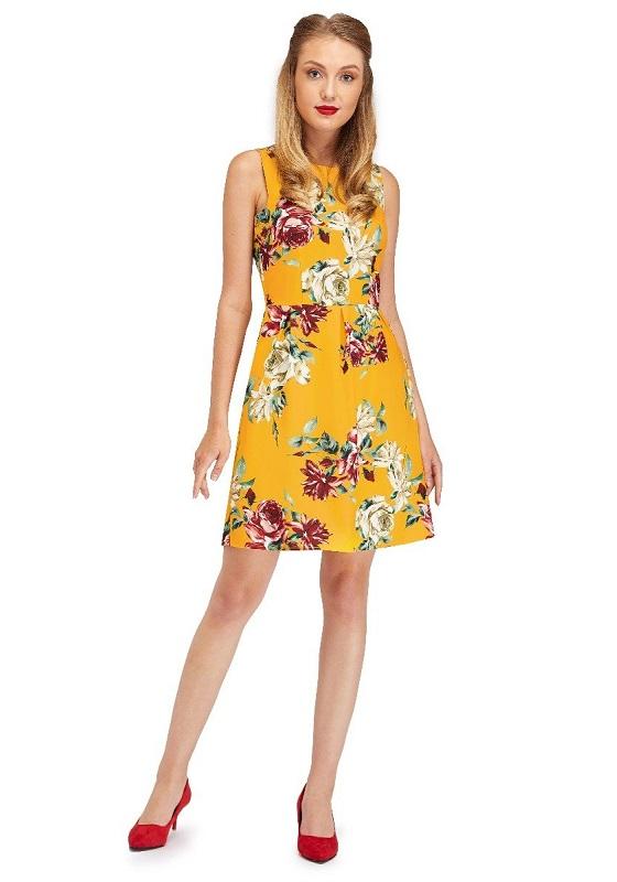 vestido-amarillo-estampado-flores-retro-60s