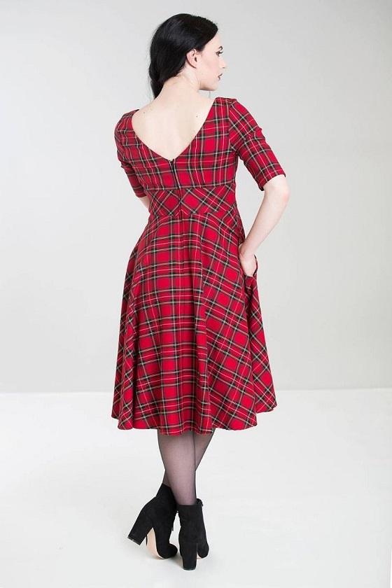 vestido-rojo-cuadros-swing