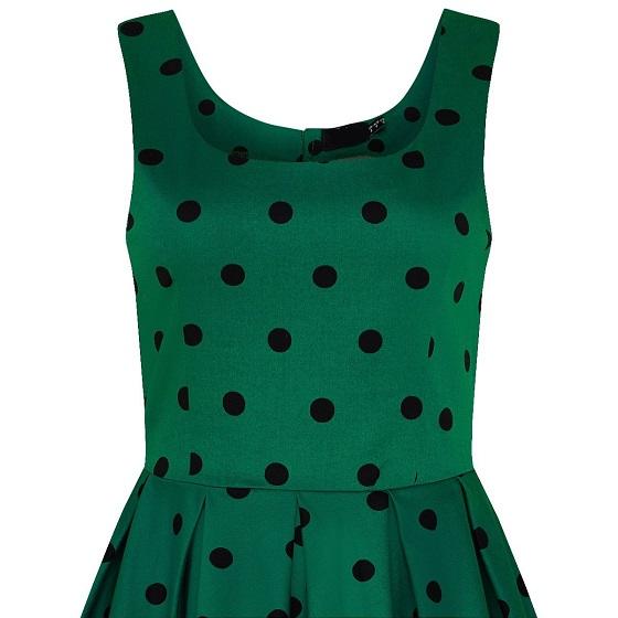 vestido-verde-jackie-lunares-negros