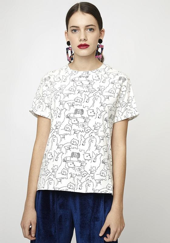 camiseta-blanca-estampado-perros