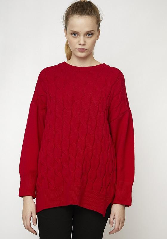 jersey-oversize-rojo-trenzas