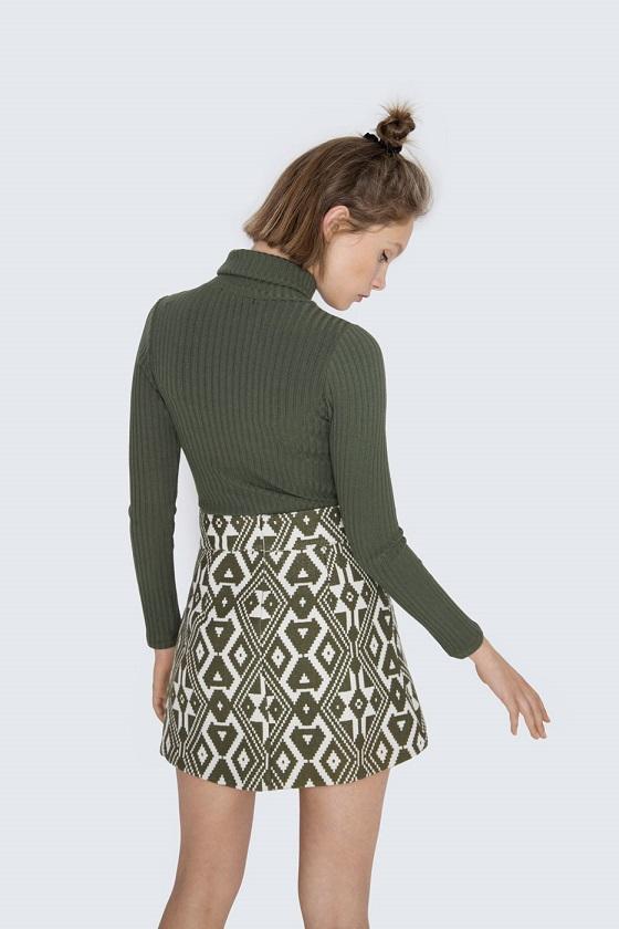 minifalda-estampado-etnico-anna-verde