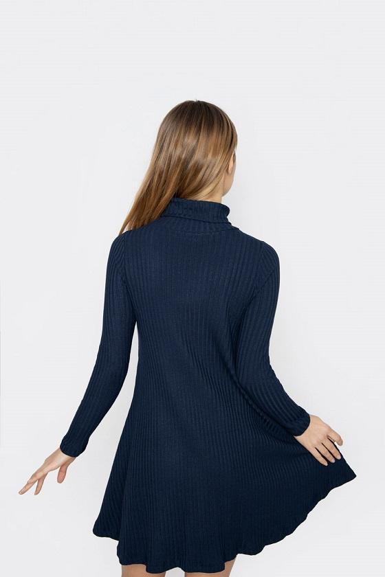 vestido-corto-cuello-alto-azul-marino-teresa