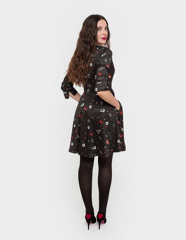 vestido-corto-estampado-rock