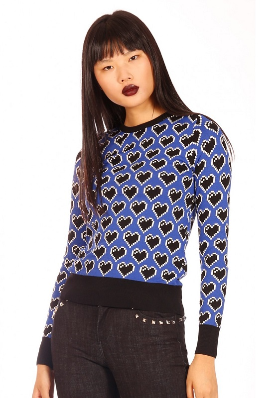 jersey-azul-corazones-negros