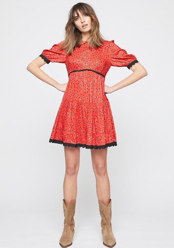 vestido-coro-rojo-estampado