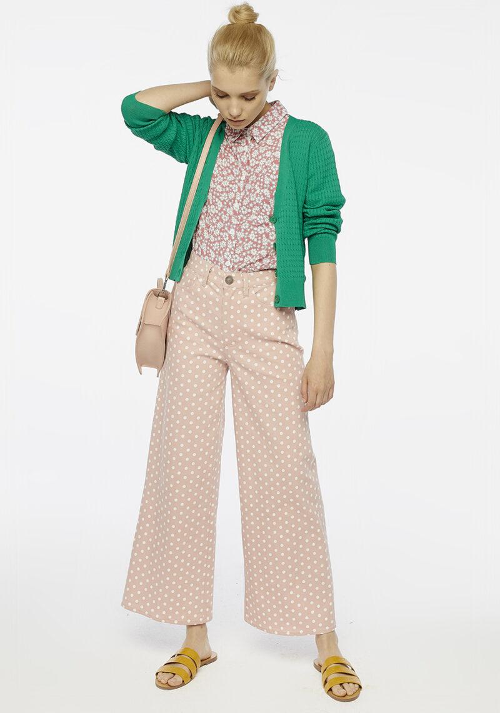 chaqueta-verde-punto-mangas-largas