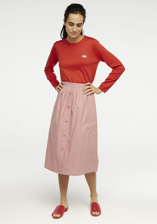 falda-rosa-mindy-botones