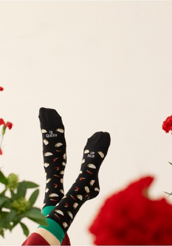 calcetines-divertidos-te-quiero-un-taco-dibujitos