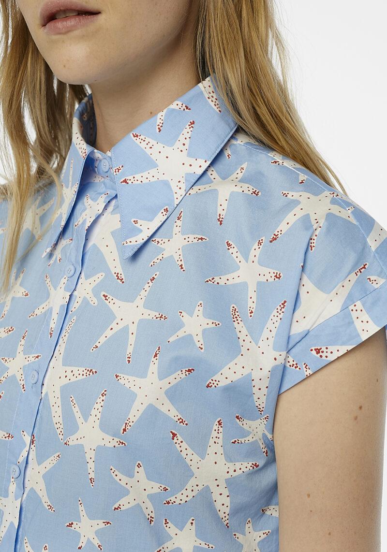 camisa-celeste-estrella-de-mar