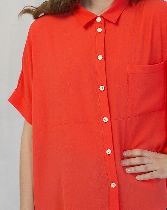 camisa-fluida-saona-coral
