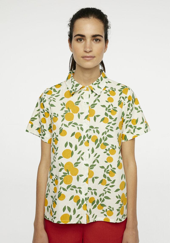 camisa-limones-mangas-cortas