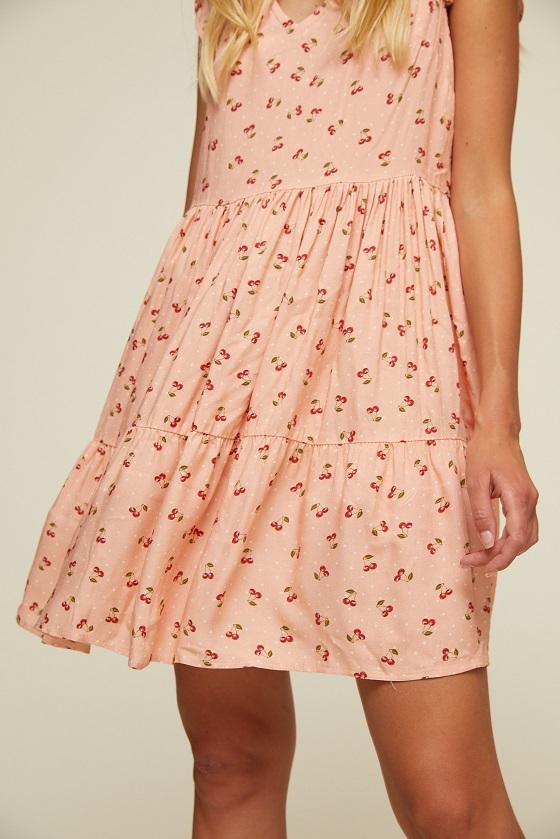 vestido-corto-estampado-cerezas