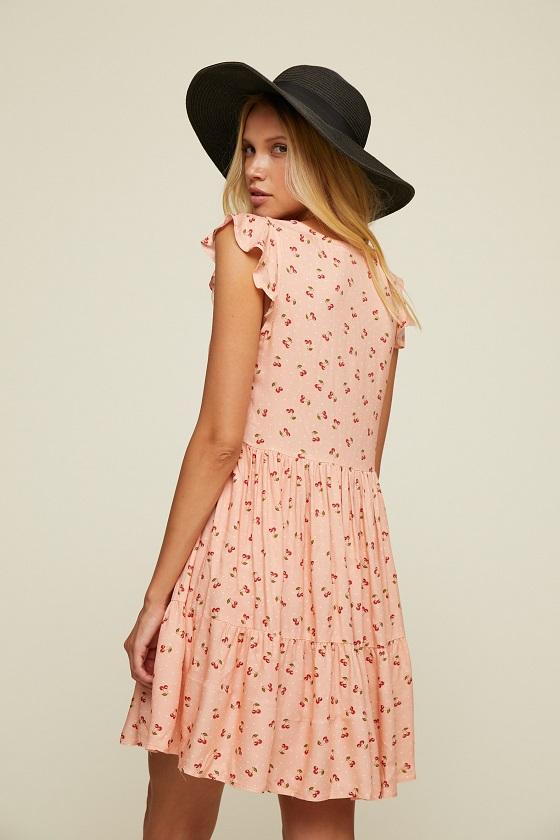 vestido-rosa-estampado-cerezas