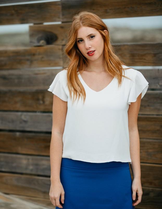 blusa-blanca-mangas-cortas