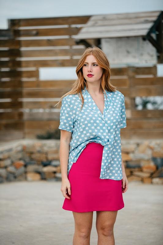 falda-lisa-rosa