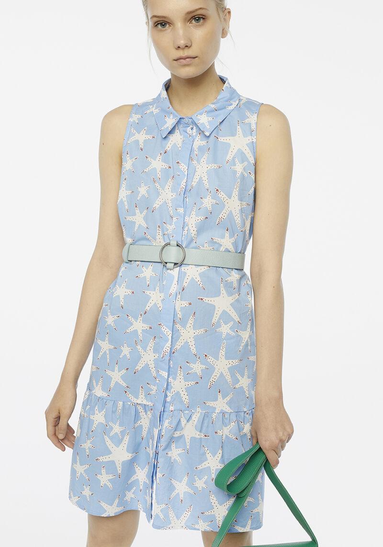 vestido-corto-sin-mangas-azul