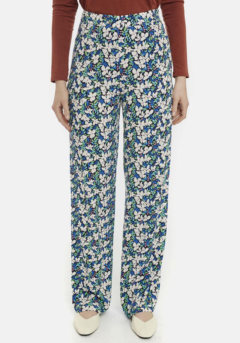 Pantalones-estampado-flores-Guinea