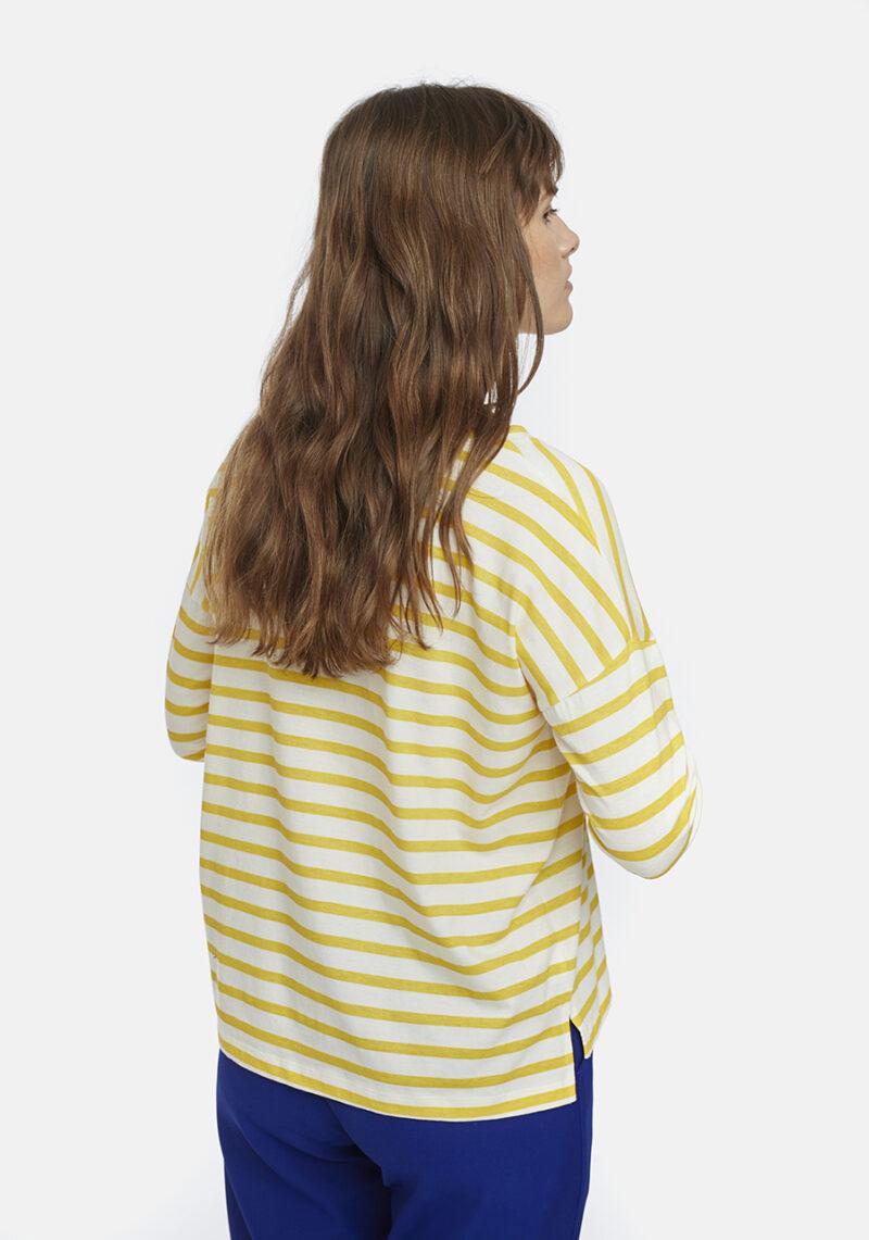 camiseta-algodon-rayas-amarillas