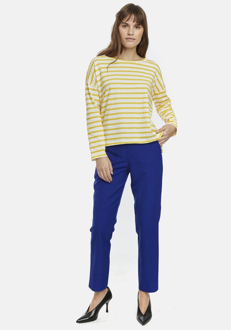 camiseta-algodon-rayas-amarillas-