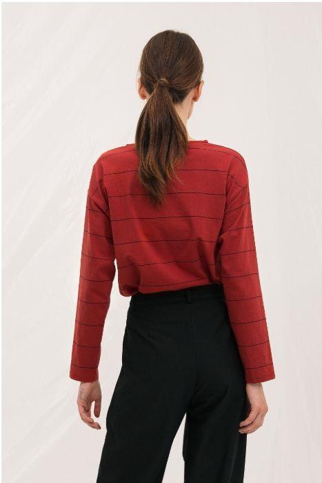 camiseta-granate-sil-mangas-largas