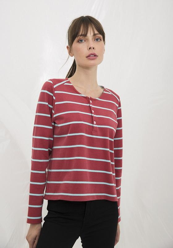camiseta-rosa-sandia-rayas-celestes